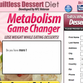 Try Guiltless Dessert Diet
